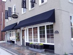 Awnings can really make your storefront stand out.
