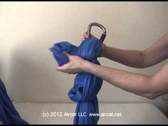 How to Tie an Aerial Yoga Hammock Knot