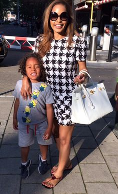 The fabulous life of fashionista and mommy Winonah de Jong