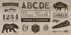 True North - Webfont & Desktop font « MyFonts