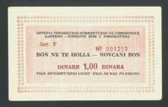 KOSOVO YUGOSLAVIA 1 Dinar ND1990s aUNC , SMREKOVNICA PRISON, V.RARE!  http://cgi.ebay.com/ws/eBayISAPI.dll?ViewItem&item=161273339327