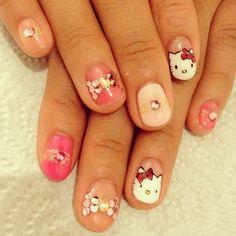 my works in LA #nail #nails #nailart #nailarts #nailswag...