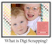 What is Digital Scrapbooking? Excellent resource for many tutorials on digital scrapbooking and Photoshop Elements.
