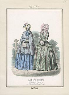 Le Follet March 1844 LAPL