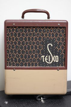 Vintage Teisco amp – very cool! Any help with for info would be appreciated!