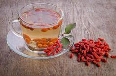 Cómo hacer una infusión de bayas de Goji. Las bayas de Goji son esos pequeñísimos frutos de color rojizo que se han introducido de lleno en todos los mercados debido a la gran popularidad que han alcanzado. Y su éxito está causado por los múl...