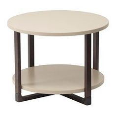 IKEA - RISSNA, Side table, , Separate shelf for magazines, etc. helps you keep your things organized and the table top clear.The table legs are made of solid wood, a durable, natural material.