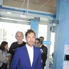 Spanish singer David Bisbal is appointed Unicef Ambassador