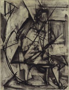 Seated Nude  - Lee Krasner, 1940