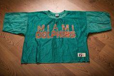 e03c4d111b3ab2 Miami Dolphins Mesh Cut-Off Jersey