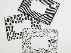 Illustrated envelopes - FREE PRINTABLE — Liz Mosley