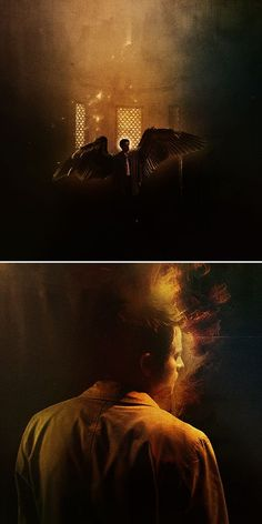 Castiel: they call you lucifer's angel #spn