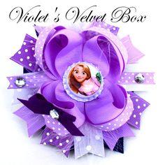 Arco de cabello de Rapunzel  enredados por VioletsVelvetBox en Etsy