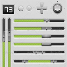 Controlled GUi set -  ui design