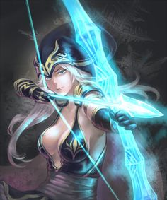 League of Legends, Ashe, by scotishfold
