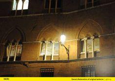 Siena (Italy), Street lighting, Design, Lantern.  http://www.neri.biz/en/Company/News-and-events/Siena-a-thousand-and-one-lights  #Light #Design #Urbanlight #Lamps #Structure #Madeinitaly #Luce #Lighting #Ispiration #NeriSpa #Followus #Follower