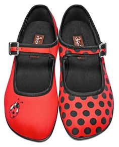 Hot Chocolate Chocolaticas Ladybug Shoes - Suicide Glam Australia