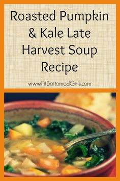 Pumpkin AND kale? This soup recipe is heavenly.