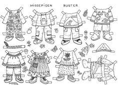 Karen`s Paper Dolls: Buster