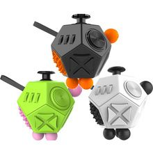 Best New Fidget Cube Stress Cube Reliever Godd Quality Fidget Cube 2017 New support Wholesale(China (Mainland))