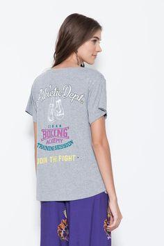 Camiseta Malha Silk Cuba Academy - 02016846 | Oh, Boy! - ohboy