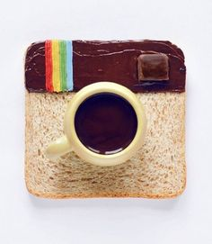 Food Art creations by culinary photographer Daryna Kossar MMM coffee