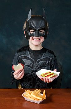 What would Batman eat? Children can be primed to order healthier fast food items merely by thinking about what their favorite superhero would eat