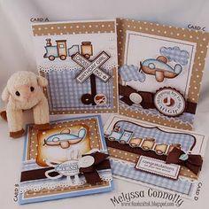 Baby Boy card set