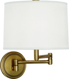 One Light Swing Arm Wall Sconce