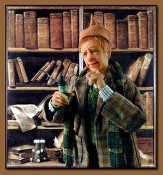 "Miniatures, Doll Art. Creager Studios - ""Arthur Weasley"""