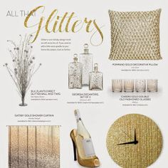Glitter is one holiday design trend we will never tire of. Bring extra sparkle into your home with this Cool Stuff.