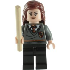 LEGO Hermione Granger Minifigure with Tan Wand