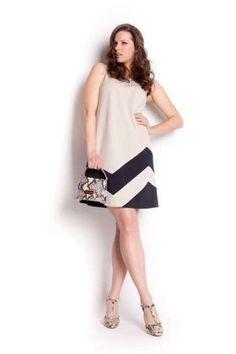 Vestiti da cerimonia per donne curvy 2014 - Vestito crema di Sweet Lola di Sandro  Ferrone 9888c7ab8d1