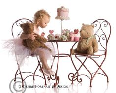 Tea Party w/Teddy Bears :)