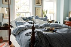 *THE ESSENCE OF THE GOOD LIFE™*: CLASSIC NEW ENGLAND STYLE WITH WHITE AND BLUE, BLUE, BLUE