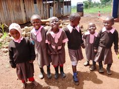 Smiling for the camera :)  #publicheatlh #Kenya