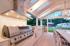 Outdoor Kitchen Design Ideas - Get Inspired by photos of Outdoor Kitchens from Australian Designers & Trade ProfessionalsOutdoor Kitchen Design Ideas - Get Inspired by photos of Outdoor Kitchens from Australian Designers & Trade Professionals - Australia Outdoor Bbq Kitchen, Outdoor Kitchen Countertops, Outdoor Kitchen Design, Outdoor Kitchens, Modern Kitchens, Outdoor Living Areas, Outdoor Rooms, Outdoor Decor, Indoor Bbq