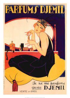 Parfums Djemil Posters sur AllPosters.fr
