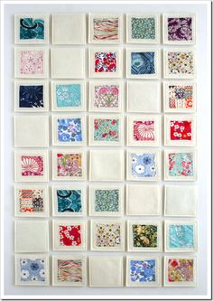 Fabric Memory Game Contact me for thirty one products and booking parties and these could be at your party!! Happy Shopping :)