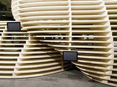 Lignum Pavilion / Frei + Saarinen Architekten,© Hannes Henz