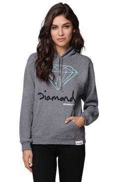 Diamond Supply Co Hoodie Women November 2017