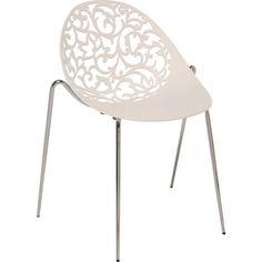 Chair Aurora White - KARE Design