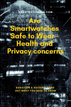 Health and privacy issues of smartwatches around the signals the devices are emitting like Bluetooth, WiFi, Radiation and privacy issues discussed. Electromagnetic Spectrum, Waterproof Fitness Tracker, Kinds Of Energy, Radio Frequency, Energy Level, Smart Technologies, Health Problems, Money Saving Tips, Need To Know