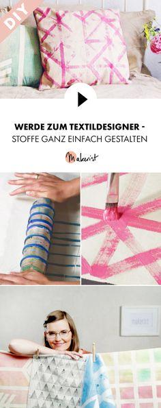 Textildesign-Techniken - Schritt für Schritt erklärt im Video-Kurs via Makerist.de