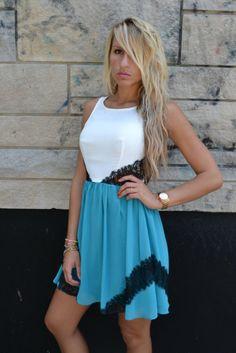 Piace Boutique - Teal Me A Secret Dress, $29.99 (http://www.piaceboutique.com/teal-me-a-secret-dress/)