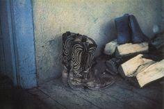Bernard Plossu. Nouveau-Mexique, 1982. Les images de cette série sont extraites du livre Plossu, Couleur Fresson, Théâtre de la Photographie et de l'Image / Nice Musées, 2007
