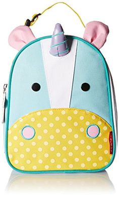 Kids' Lunch Bags - Skip Hop Baby Zoo Little Kid and Toddler Insulated and WaterResistant Lunch Bag Multi Eureka Unicorn >>> More info could be found at the image url.