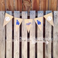 Dodgers Banner/ Dodgers Decor/ Dodgers Party/ Dodgers Theme/ Baseball/ Baseball…