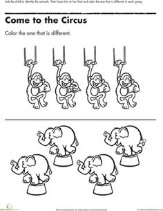1000+ images about circus on Pinterest | Alphabet Worksheets ...