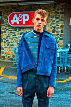 All American editorial by Adriano B. Menwear street style with a vintage touch